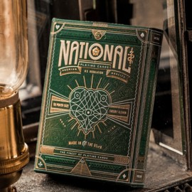 Green National Playing Cards de theory11