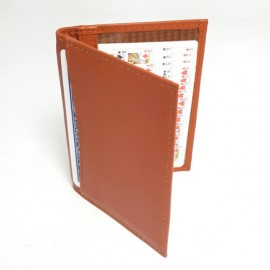 JOL Double Bi-Fold Holder (4 compartiments) - Soft Tan