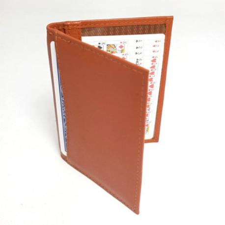JOL Double Bi-Fold Holder (4 compartiments) - Soft Tan