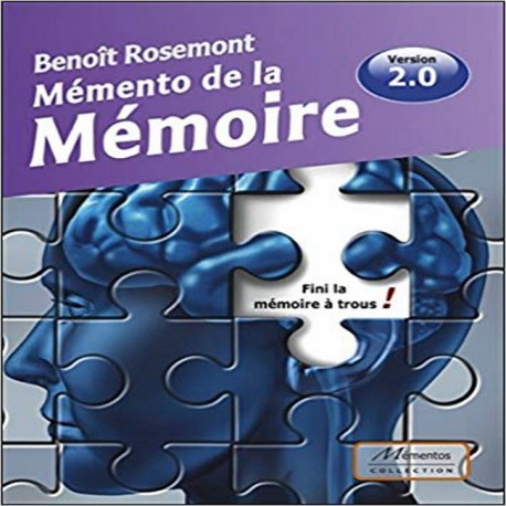 Livre Memento de la mémoire