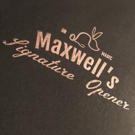 Maxwell's Signature Opener