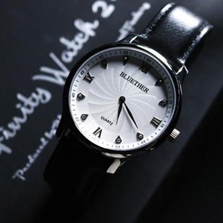 Infinity Watch V2 (Argent/ Blanc)
