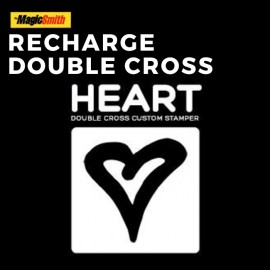 Recharge Double Cross Secret Stamper (Coeur)