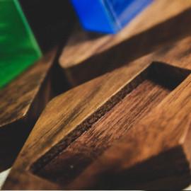 Support Bois pour Jeux de Cartes (Wooden Support)