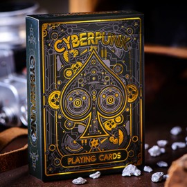 Cyberpunk Gold Deck