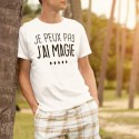 """Tee-Shirt """"Je peux pas, j'ai Magie"""""""