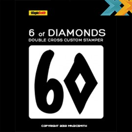Tampon Double Cross - 6 de Carreau