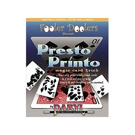 Presto Printo (Gimmick + DVD)
