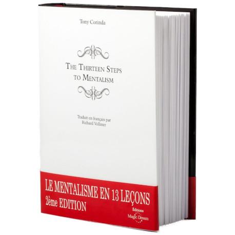 Livre Corinda - The Thirteen Steps to Mentalism (FR)