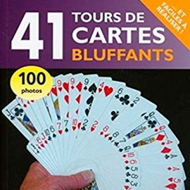 Livre 41 tours de cartes bluffants
