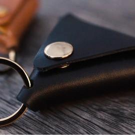 Coin Pouch Noir (Demi dollar)