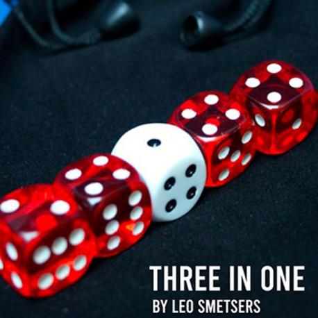 3 in 1 - Set de dés
