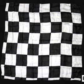 Production Hanky Chess Board Noir et Blanc