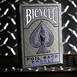 Bicycle Rider Back Cobalt Luxe