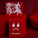 Keep Smiling Deck  Red