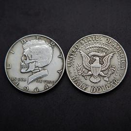 Kennedy Skull head Coin