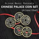 Chinese Palace Coin Set (Demi Dollar)