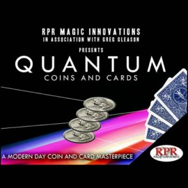 Quantum Coins Version Euros Dos Rouge