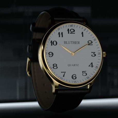 Infinity Watch V3 (Or/Blanc)