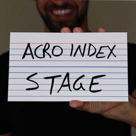 Acro Index Version Scène