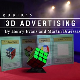 Rubik's 3D Advertising