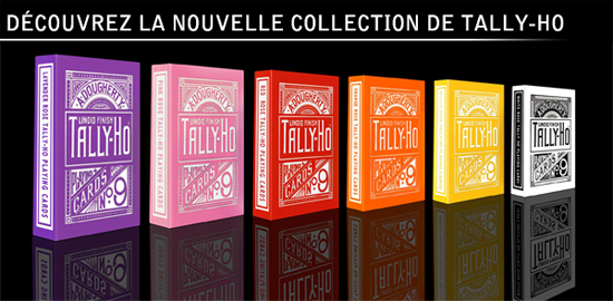 Nouvelle collection jeux Tally-Ho