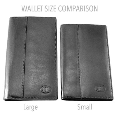 Comparaison Small et Large Plus Wallet