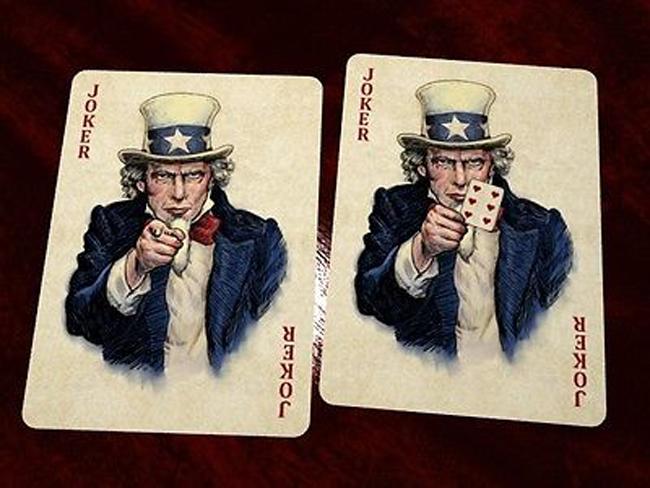 Jokers Bicycle US Presidents