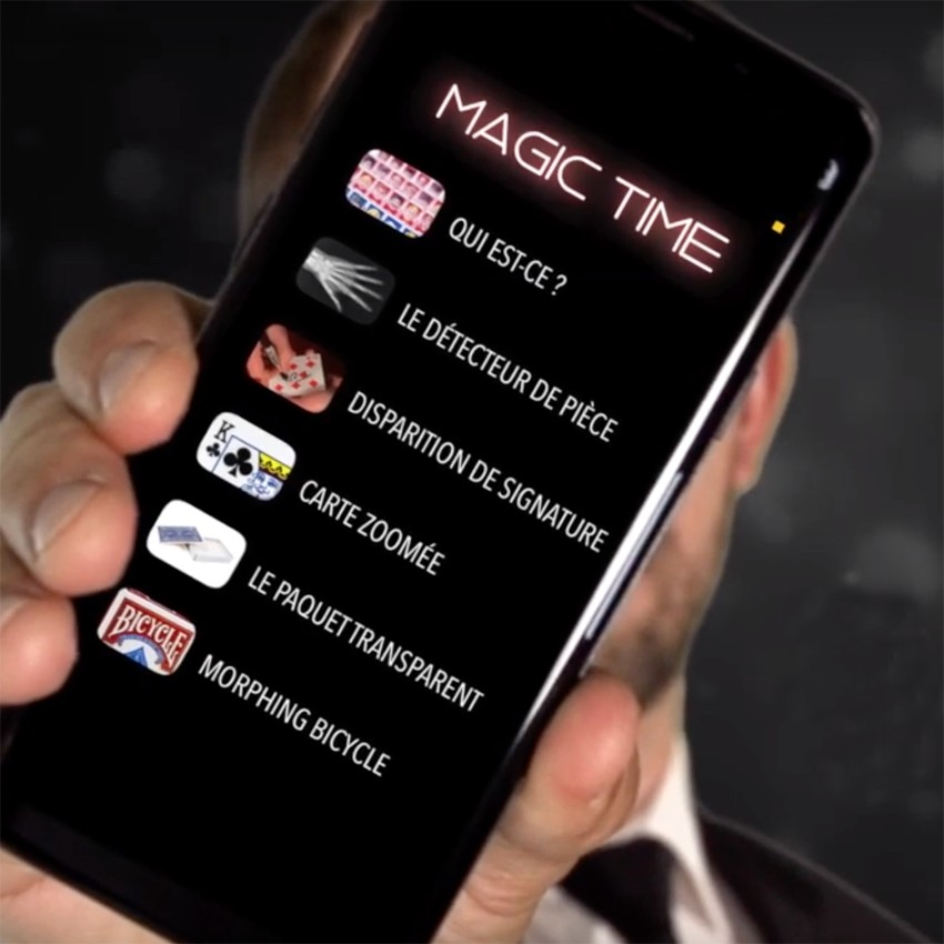 Magic Time (Application et gimmicks)
