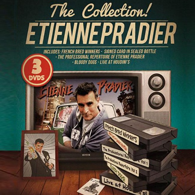 DVD Etienne Pradier The Collection (+ Bonus)